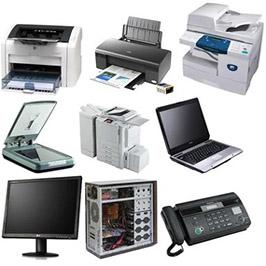 Настройка офисной техники: компьютеры, принтеры и т. д.